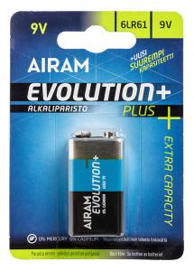 EVOLUTION PLUS 6LR61 9V Prestandabatteri