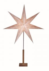 LEKVAD Stjärna 106cm Champagne/Ek