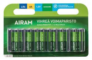 GRÖN POWER 12-Pack LR6 (AA) 1,5V Batteri