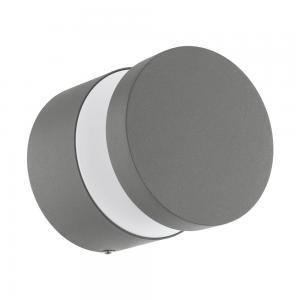 MELZO Tak/Vägglampa LED 13cm Silver IP44