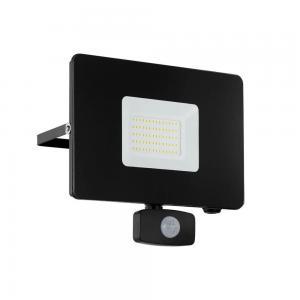 FAEDO 3 LED Strålkastare 50W Sensor Svart IP44