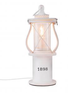 1898 Bordslampa 40cm Vit/Glas