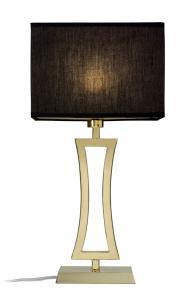 BELGRAVIA Bordslampa 48cm Mässing/Svart