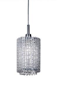 AVENUE Fönsterlampa 25,5cm Krom/Kristall