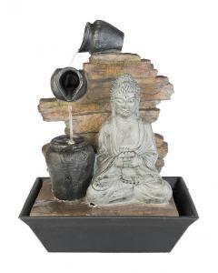 Inomhusfontän Buddha Urnor 40cm LED