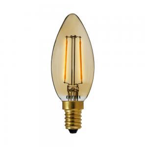 E14 Kronljus 2W 180lm 2200K Amber