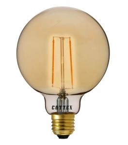 E27 Glob 125 2W 180lm 2200K Amber