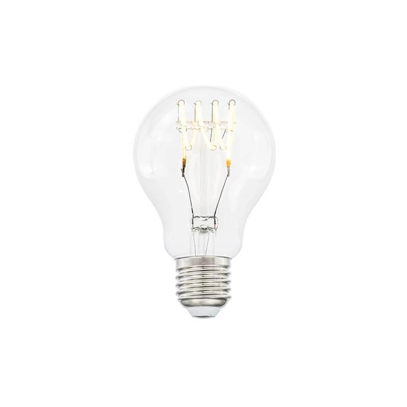E27 3-Stegs Dimbar Normal 4W 2700K 300lm Klar LED-Lampa
