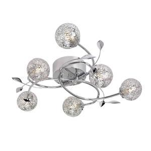 ETSY Plafond 65cm Krom/Glitter