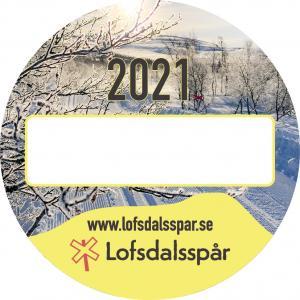 Spårknapp skidor 2021