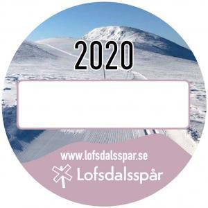 Spårknapp skidor 2020