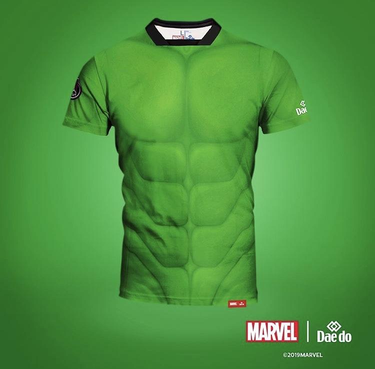 Marvel T-shirt Hulken Full Print