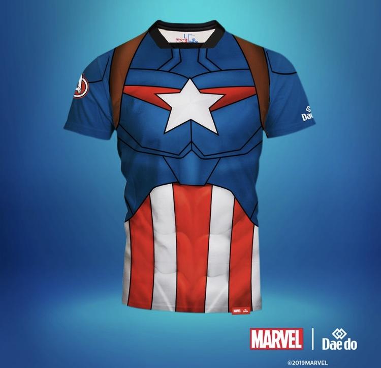 Marvel Captain America Full Print T-shirt