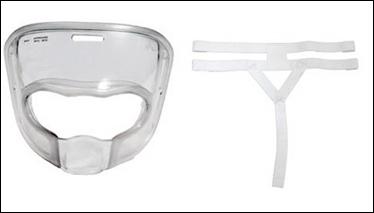 Ansiktskydd för karate WKF