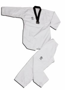 Wacoku Taekwondo dräkt svart krage