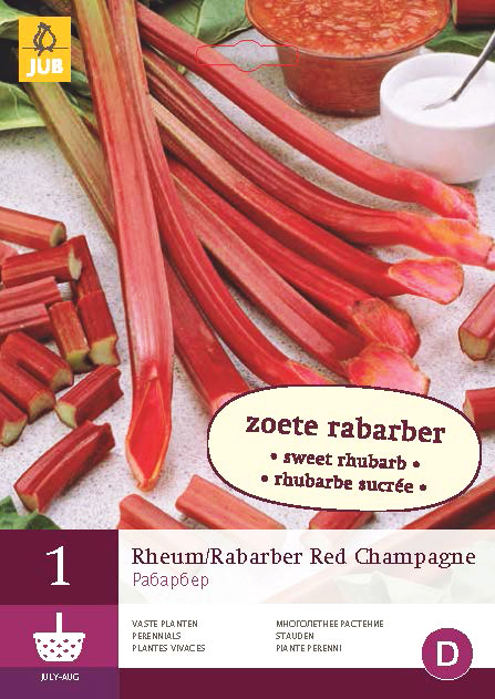 Rabarber Red Champagne