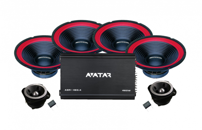 "4x10"" / AVATAR 460.4"