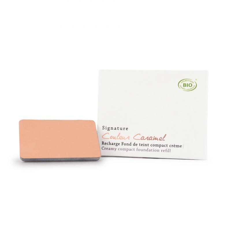 Couleur Caramel Signature Creamy Compact foundation n°05 Orange beige REFILL