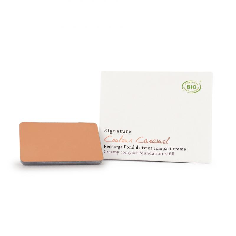 Couleur Caramel Signature Creamy Compact foundation n°06 Amber beige