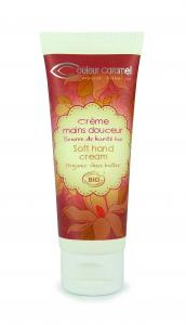 Couleur Caramel Soft hand cream tube 75 ml
