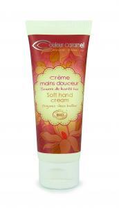 Couleur Caramel Soft hand cream tube 75 ml
