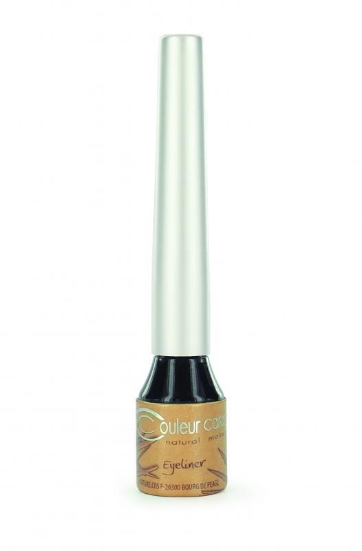Couleur Caramel Eye liner n°07 Organic black BIO