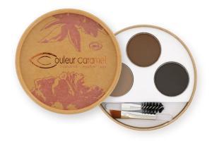 Couleur Caramel Eyebrow kit n°929 dark