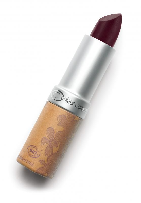 Couleur Caramel Lipstick n°124 Red wine