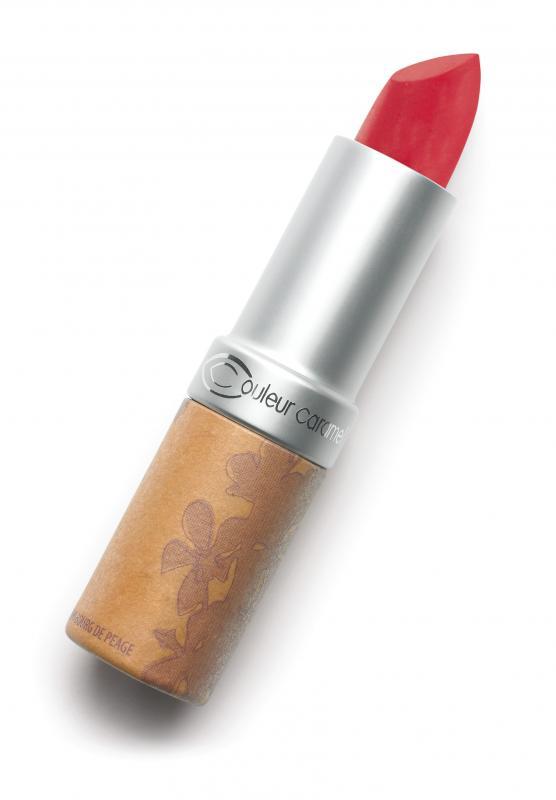Couleur Caramel Lipstick n°125 Fire red