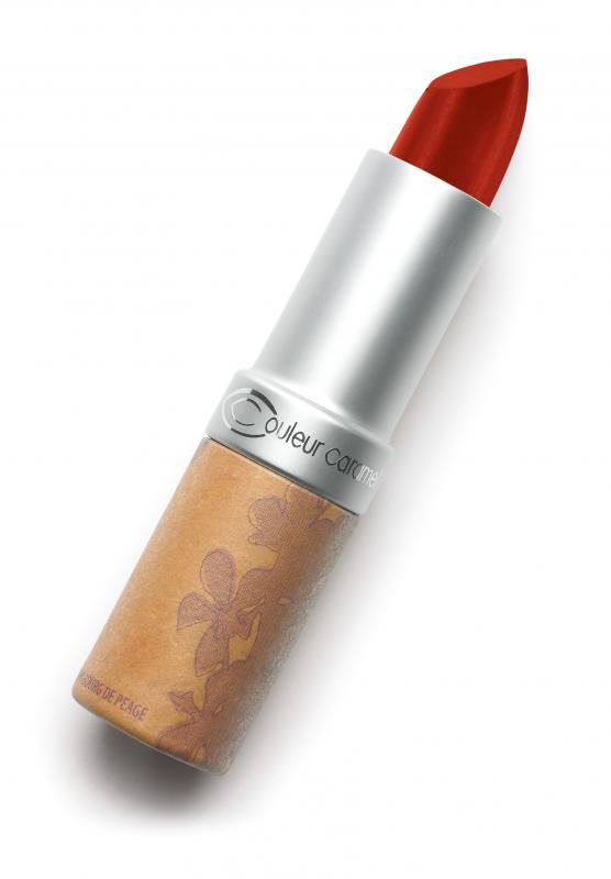 Couleur Caramel Lipstick n°263 Deep red