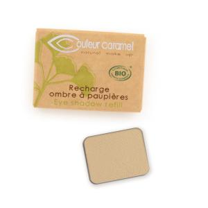 Couleur Caramel Refill Eye shadow n°008 Matt yellow beige