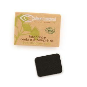 Couleur Caramel Refill Eye shadow n°023 Matt black