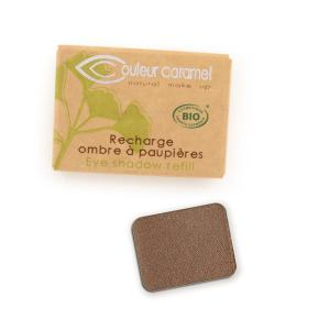 Couleur Caramel Refill Eye shadow n°067 Pearly coppered chocolate