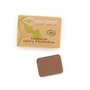 Couleur Caramel Refill Eye shadow n°080 Matt chocolat