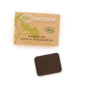 Couleur Caramel Refill Eye shadow n°081 Matt intense brown