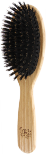 TEK Big oval pneumatic brush with wild boar bristles FSC 100%