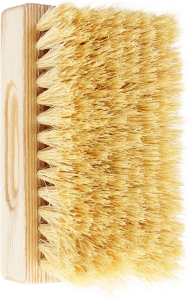 TEK Bath brush with natural tampico bristles (hard)