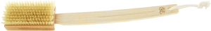 TEK Dry brush with natural piglet bristles and removable handle (soft)