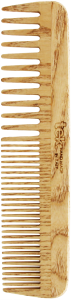 TEK Large wooden comb with wide and medium sized teeth