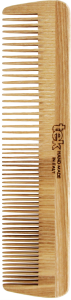 TEK Large wooden comb with medium sized and fine teeth