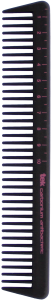 TEK Carbonium antibacteric haircut comb with wide teeth