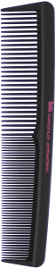 TEK Antibacteric carbonium comb with fine and medium sized teeth