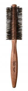 TEK Round brush in mahogany wood with wild boar bristles Ø 45mm