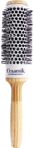 TEK Ceramik antibacteric round brush Ø 36mm Black bristles