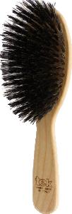 TEK Big oval brush wild boar bristles mixed with nylon
