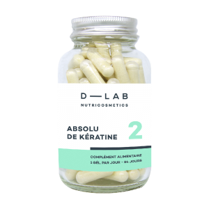 D-LAB nutricosmetics Pure Keratin 84days treatment