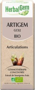 HerbalGem Organic Artigem 50 ml