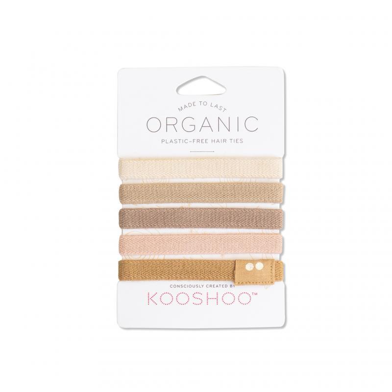 KOOSHOO Organic Hair Ties - Blond