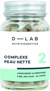D-LAB nutricosmetics Clear Skin Complexe 28 days treatment