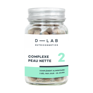 D-LAB nutricosmetics Clear Skin Complexe